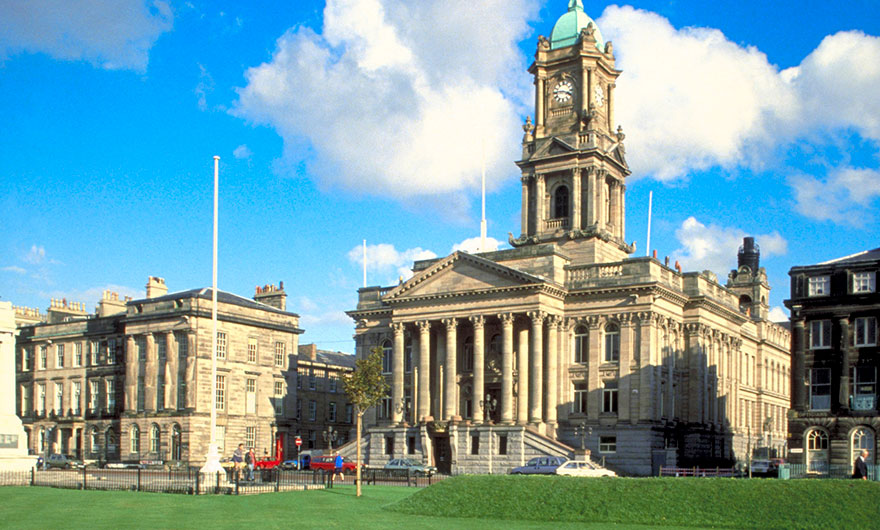 This image is of Birkenhead Town Hall.