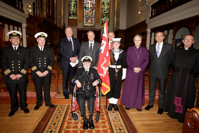 A Service of Dedication for the new Merchant Marine Services Standard