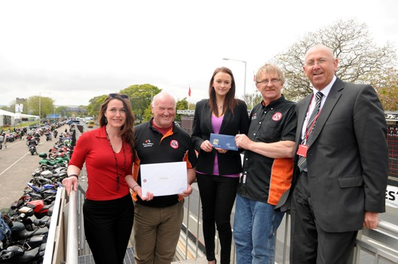 Caption: (from left) Steam Packet Marking and Online Manager Renée Caley, TTMA Chairman Terry Holmes, acting Sefton Group Marketing Manager Nicola Wilkinson, TTMA Vice Chairman Gordy Moore and Steam Packet Sales Development Manager Brian Convery
