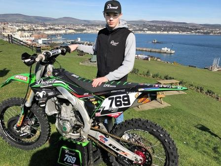 Motocross star Jed Etchells, who is heading to the World Championships