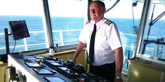 Captain Allan Albiston