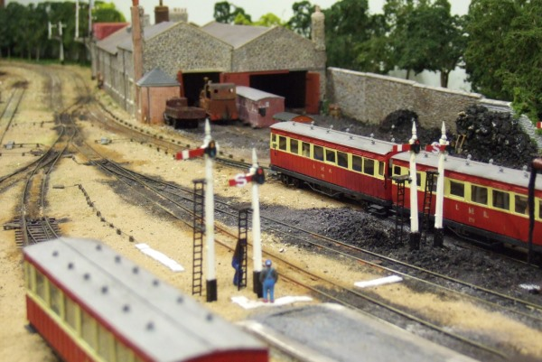 Isle of Man Steam Railway Supporter's Association was gifted the model by Association member and railway enthusiast Michael Radcliffe