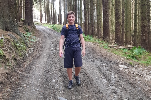 14-year-old Jake Hodgson is walking almost 200 miles in aid of Rebecca House this July