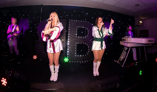 Revival: Abba Tribute Band performing on stage