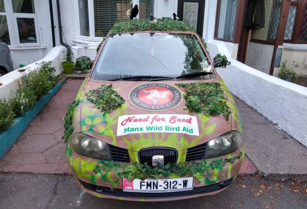 The Need for Seed car ready for action