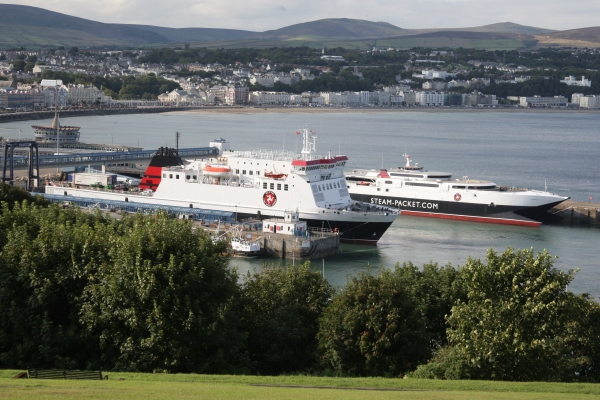 Isle of Man Steam Packet Company vessels in Douglas