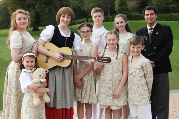 Cast Members of The Sound of Music 2020