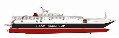 Steam Packet Mannanan Vessel main characteristics